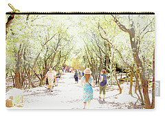 Carry-all Pouch featuring the photograph Summer Light Provence by Rasma Bertz