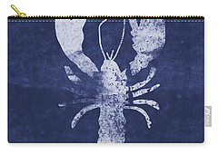 Summer Lobster- Art By Linda Woods Carry-all Pouch