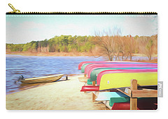 Carry-all Pouch featuring the photograph Summer Memories by Wade Brooks