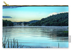 Summer Morning On The Lake Carry-all Pouch by Thomas R Fletcher