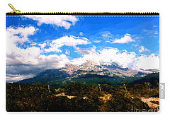Summer On Mt. Shasta Carry-all Pouch by Methune Hively