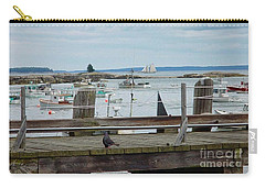 Summer On The Harbor Carry-all Pouch