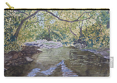 Summer On The South Tow River Carry-all Pouch by Joel Deutsch
