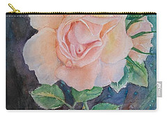Summer Rose - Painting Carry-all Pouch by Veronica Rickard