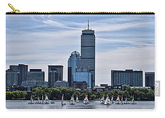 Summer Sailing On The Charles Carry-all Pouch