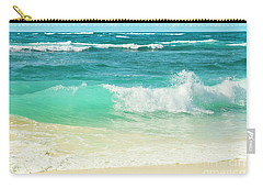 Carry-all Pouch featuring the photograph Summer Sea by Sharon Mau