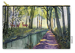 Summer Shade In Lowthorpe Wood Carry-all Pouch