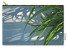 Carry-all Pouch featuring the photograph Summer Shadows by Nancy Lee Moran