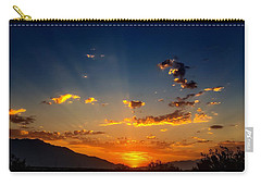 Carry-all Pouch featuring the photograph Summer Sky by Chris Tarpening
