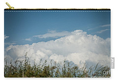 Carry-all Pouch featuring the photograph Summer Sky by Jan Bickerton