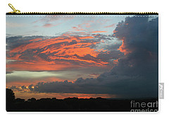 Summer Sky On Fire  Carry-all Pouch