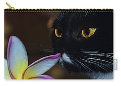 Summer Sniffing Plumaria Carry-all Pouch