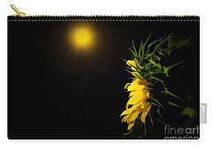Summer Solstice Flower 2016 Carry-all Pouch by Angela J Wright