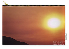 Summer Solstice Sun 2016 Carry-all Pouch by Angela J Wright
