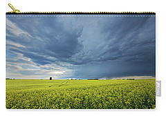 Summer Storm Over Alberta Carry-all Pouch