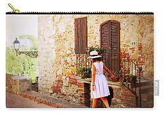 Summer Stroll Carry-all Pouch by Valerie Reeves