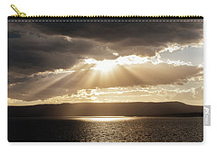 Summer Sun On Yellowstone Lake Carry-all Pouch