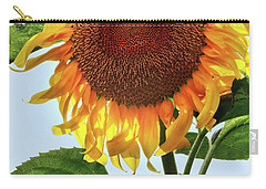 Summer Sunflower Carry-all Pouch by Mikki Cucuzzo