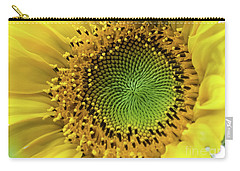 Summer Sunflower Carry-all Pouch