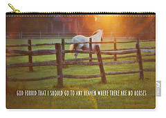 Summer Sunset Quote Carry-all Pouch