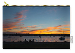 Summer Sunset With Friends Carry-all Pouch