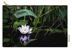 Carry-all Pouch featuring the photograph Summer Swamp 2017 by Bill Wakeley