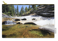 Carry-all Pouch featuring the photograph Summer Swimming Hole by Sean Sarsfield