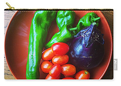 Summer Vegetables Carry-all Pouch by Hamamura86