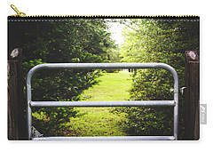 Carry-all Pouch featuring the photograph Summer Vibes On The Farm by Shelby Young