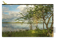 Carry-all Pouch featuring the photograph Summer View by Rose-Marie Karlsen