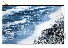Summer Waves Cape Lookout Oregon Coast Carry-all Pouch