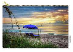 Carry-all Pouch featuring the photograph Summer's Calling by Debra and Dave Vanderlaan