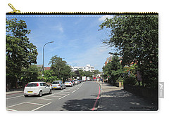 Carry-all Pouch featuring the photograph Summers Walk To Catford Town Centre - Lewisham - London by Mudiama Kammoh