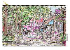 Summertime In Newburyport, Massachusetts Carry-all Pouch