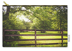 Carry-all Pouch featuring the photograph Summertime Sunshine by Shelby Young
