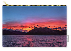 Summit Cove And Summerwood Sunset Carry-all Pouch