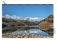 Summit Cove November Snow Carry-all Pouch by Stephen Johnson