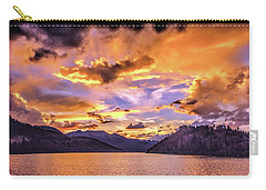 Summit Cove Sunset At Summerwood Carry-all Pouch