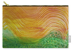 Sun And Grass In Harmony Carry-all Pouch