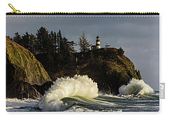 Sun And Surf With Lighthouse Carry-all Pouch