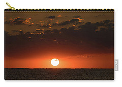Sun Ball Sunrise Delray Beach Florida Carry-all Pouch