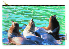 Sun Basking Seals Carry-all Pouch