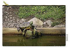 Sun Bathing Carry-all Pouch by Melissa Messick