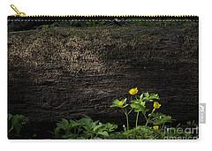 Sun Beam On Log Carry-all Pouch