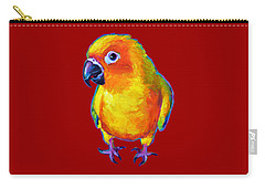 Sun Conure Parrot Carry-all Pouch