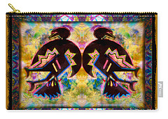 Sun Dance Angels Carry-all Pouch