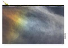 Carry-all Pouch featuring the photograph Sun Dog 2017 by Thomas Young