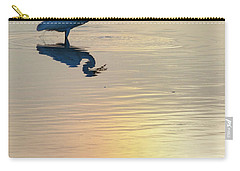 Sun Dog And Egret 4 Carry-all Pouch