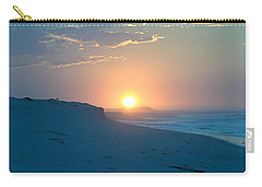 Carry-all Pouch featuring the photograph Sun Dune by  Newwwman