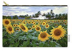 Sun Fields Carry-all Pouch